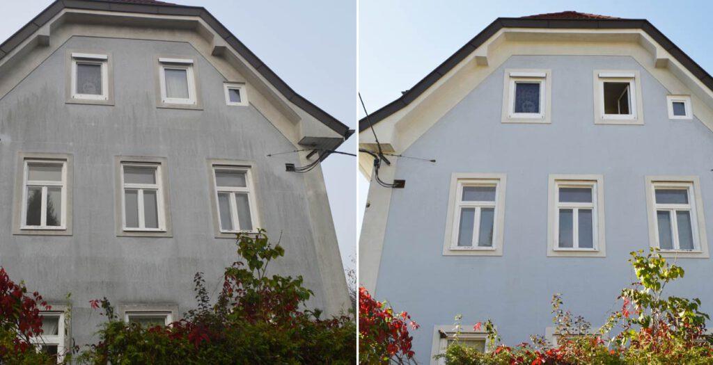 Exklusive Fassadenreinigung